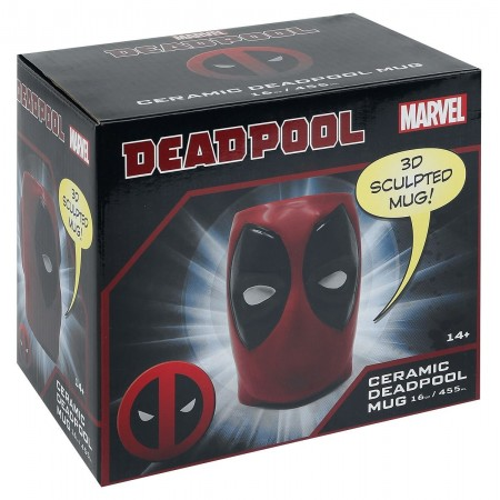 3D Κούπα Marvel Heroes Deadpool