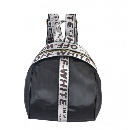 [ OF2 ] OFF WHITE BACKPACK