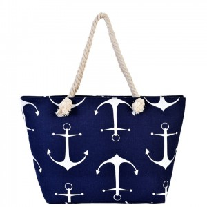 [ BB88 ] ANCHOR BEACH BAG-BIG SIZE